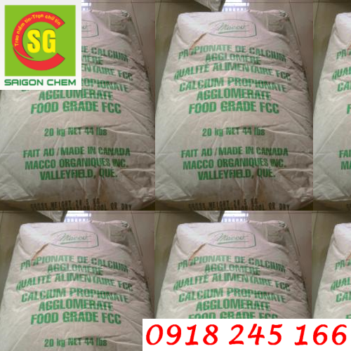 chất bảo quản thực phẩm Calcium Propionate