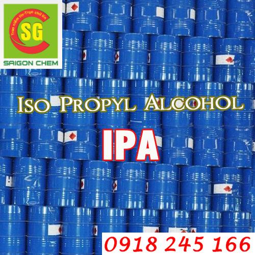 hoá chất dung môi Iso Propyl Alcohol (I.P.A)