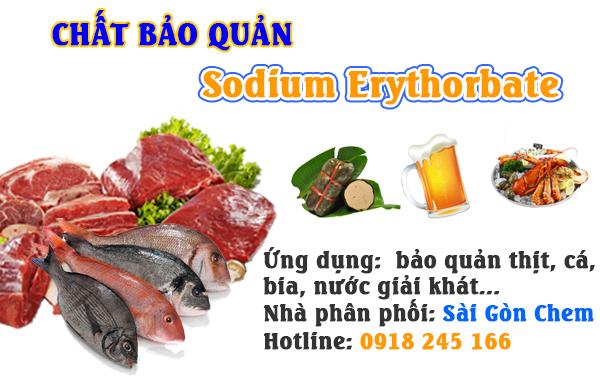 Sodium Erythorbate (E 316)