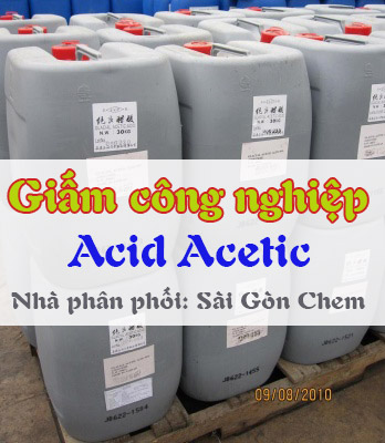 Acid Acetic - Giấm công nghiệp