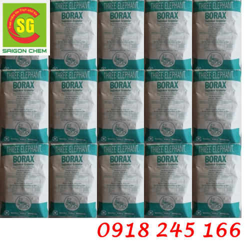 Hoá chất Borax 99.5% Na2B4O7.10H2O